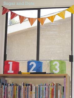 paint chip bunting