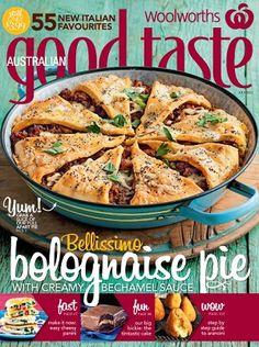 Woolworths Australian Good Taste - July 2013 #magazines #magsmoveme  http://www.taste.com.au/good+taste/