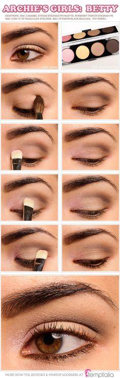 MAC Caramel Sundae Eyeshadow Palette Review, Photos, Swatches (Archie's Girls)-