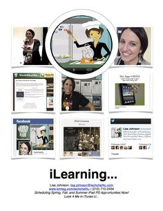 Use Designs for Pages to create a collage image and Thinglink to make it interactive (could be used as a virtual resume)