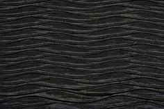 ROUCHED Fabric by KOKET | KOKET Textiles #textiles #fabrics #wallcoverings #leathers  see more: http://www.bykoket.com/textiles/fabrics/rouched-black-fabric.php