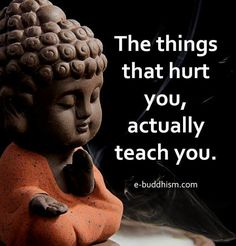 Hurt teaches us