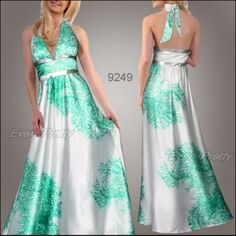 something like this but short and blue for bridesmaids