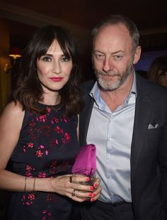 "Carice van Houten and Liam Cunningham attend the after party for HBO's ""Game of Thrones"" Season 5 at San Francisco City Hall on March 23, 2015 in San Francisco"