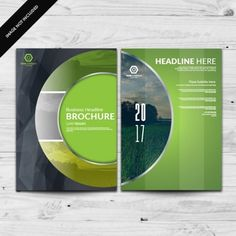 Discover the best Vectors, Photos & PSD files from Designertale - Free Graphic Resources for personal and commercial use Company Brochure, Brochure Design, Brochure Template, Page Design, Book Design, Design Ideas, Corporate Id, Portfolio Website, Health Care