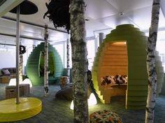 Necesito un iglú de inspiración como en las oficinas de Google....