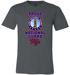 Proud U.S. Army National Guard Wife Unisex T-Shirt