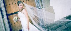 Bride in the breeze