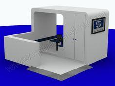 Presentación 3D para publicidad creativa | SP Integrales Proyecto para stand de HP