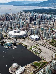 Flight over Vancouver | Canada (by Milo Vosch)