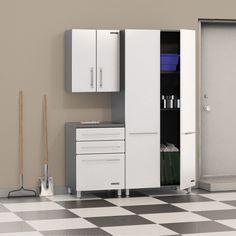 Luxury Blue Hawk Garage Cabinets