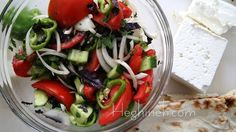 Summertime Salad Recipe - Armenian Cuisine - Heghineh Cooking Show - YouTube