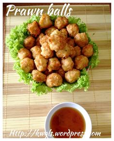 Teochew Deep Fried Prawn Balls (潮州干炸虾枣)