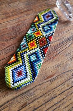 Sacred Ceremony Amulets, Handmade Sacred Geometry Jewellery, Shamanic Amulets, Ayahuasca Inspired by KavanaEmporium on Etsy Tribal Patterns, Bead Loom Patterns, Beading Patterns, Cross Stitch Bookmarks, Bead Loom Bracelets, Spiritual Jewelry, Tapestry Crochet, Friendship Gifts, Loom Weaving