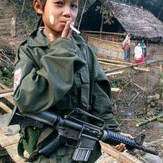 Niños en la guerra