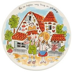 Small Talk Pottery by Blond Amsterdam Blond Amsterdam, Decorative Plates, Pottery, Drawings, Sketches, Prints, Fun, Inspiration, Small Talk