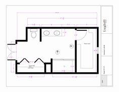 Master Bathroom Floor Plans X Baths Bathroom Layout Master