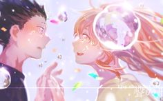 This wallpaper has tags of A Silent Voice Koe No Katachi, Anime, Shouya Ishida, Shouko Nishimiya, Fanarts Anime, Manga Anime, Anime Art, Me Me Me Anime, Anime Love, Vocaloid, Koe No Katachi Anime, A Silence Voice, Cool Animes