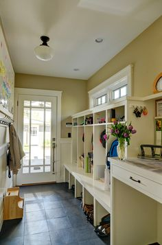 craftsman mud room