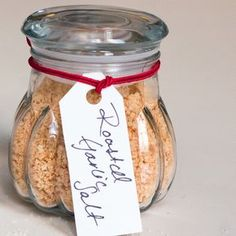 12 Days of Edible Gifts: Homemade Flavored Salt