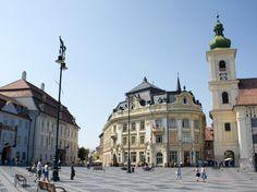 Sibiu - Piața Mare- Plaza Mayor en Sibiu, Romania