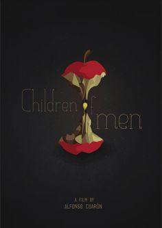 Children of men. Affiche par Camille Brelet (e-artsup promo 2015).