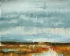 Discover Original Art for Sale Online at UGallery | A Palette of Rain oil painting by Ronda Waiksnis
