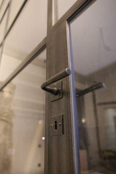 Schaufenster, Türen, Lofttrennwände - Feiner Steel Doors And Windows, Aluminium Windows And Doors, Iron Doors, Door Design, Door Handles, Wood, Interior, House, Home Decor