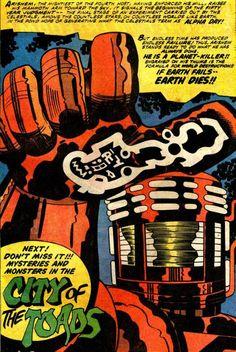 Eternals - Jack Kirby