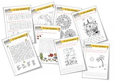 Rallye-vacances cycle 2 - Bout de gomme French Teaching Resources, Teaching French, French Teacher, Spanish Teacher, Core French, Cycle 2, French Immersion, School Classroom, Back To School