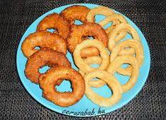 tintahal karika – Google Kereső Onion Rings, Ethnic Recipes, Google, Food, Essen, Meals, Yemek, Onion Strings, Eten