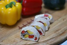 Turkey and Bell Pepper Pinwheels | 5DollarDinners.com