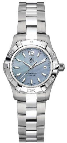 TAG Heuer Women's WAF1417.BA0823 Aquaracer Blue Mother-of-pearl dial Watch $1,139.99