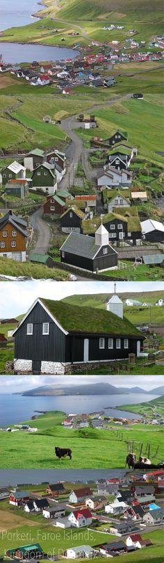 Denmark  ,Porkeri, Faroe Islands, Kingdom of Denmark