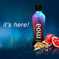 Introducing MOA! The newest addition to ARIIX's Nutrifii line of health supplements. MOA is a nutrient loaded mixture packed with an abundance of the world's most exotic superfoods.