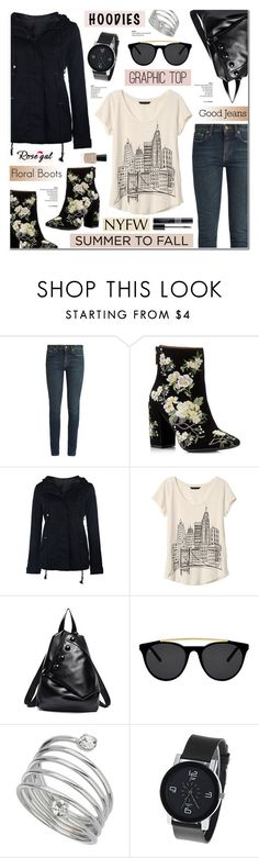 """""""Rosegal 11"""" by anyasdesigns ❤ liked on Polyvore featuring Yves Saint Laurent, Miss Selfridge, Banana Republic, Smoke x Mirrors, Christian Dior and rosegal"""