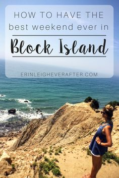Have a perfect weekend in Block Island! Schedule in one last weekend trip before the fall weather hits... | Erin Leigh Ever After