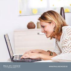 ¿Tienes dudas si los productos e ingredientes que utilizas en la actualidad, son los más adecuados para tu tipo de piel? Envíanos a info@paulaschoice.es tu rutina actual, tipo de piel, alergias, patologías y recibirás una prescripción completa por parte de nuestros expertos de Paula's Choice, sobre los productos e ingredientes más beneficiosos para ti. También puedes contactarnos a través de nuestro chat online en www.paulaschoice.es o por Teléfono al: 91 010 15 15.  ¿Te lo vas a perder?