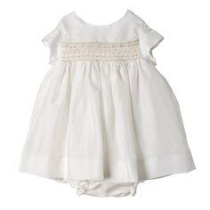 Robe Maruska Blanc lait Boutique en ligne Bonpoint