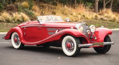 The 1937 Mercedes-Benz 540 K Special Roadster is valued at more than $10 million | RM Sotheby's photos