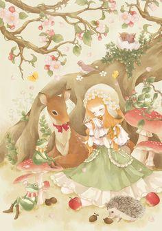 ☆ 童話 子鹿 ♥douwa kojika☆
