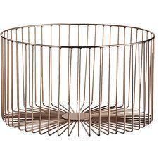 beam medium copper basket  | CB2 (for diapers?)