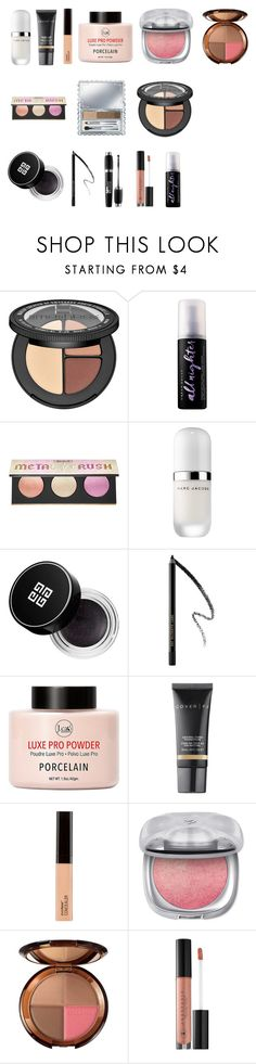 """""""Wearable"""" by tyronewelle ❤ liked on Polyvore featuring beauty, Sephora Collection, Urban Decay, Kat Von D, Marc Jacobs, Givenchy, Pat McGrath, ULTA, Cover FX and Orlane"""