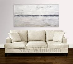 Original Abstract Landscape Painting Modern by www.SkyWhitmanFineArt.com
