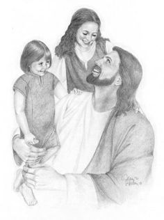 Jesus With Children Photo: This Photo was uploaded by amberriddell. Find other Jesus With Children pictures and photos or upload your own with Photobuck. Jesus Christ Drawing, Jesus Drawings, Jesus Art, God Jesus, Pencil Drawings, Pencil Art, Art Drawings, Jesus Is Risen, Jesus Loves