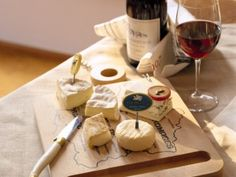 a simple but useful guide to pairing wine and cheese.