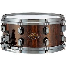 "Tama BS136BNNCD Starclassic Bubinga 6x13"" Snare Drum (Natural Cordia)"