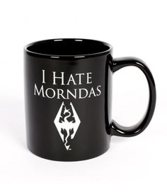 TTIF Thank Talos It's Fredas!  The Bethesda Store - I Hate Morndas Mug - The Elder Scrolls - Brands