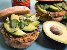 Chipotle Sweet Potato Burgers - Budget Bytes