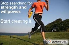 Stop searching for strength and willpower. Start creating it.
